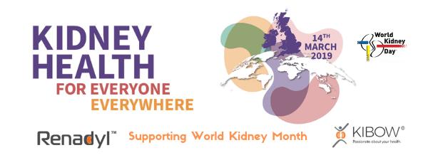 Kibow - World Kidney Month March 2019