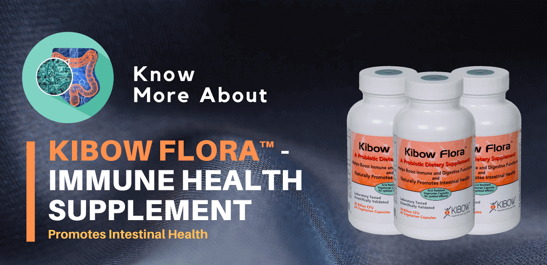 Kibow Flora ™ - Best Immune Health Supplement | USA