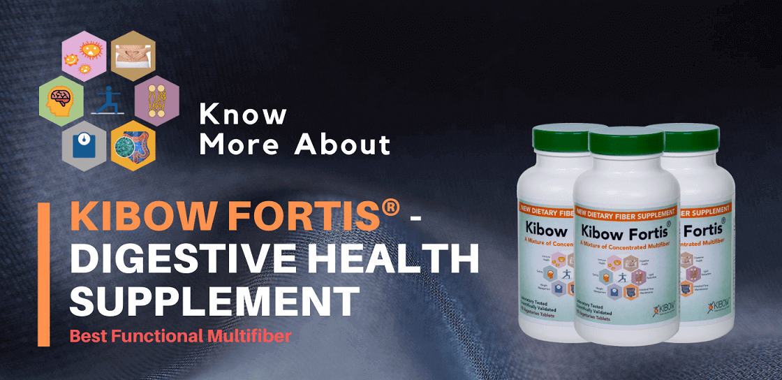 Kibow Fortis® - Best Digestive Health Supplement | USA