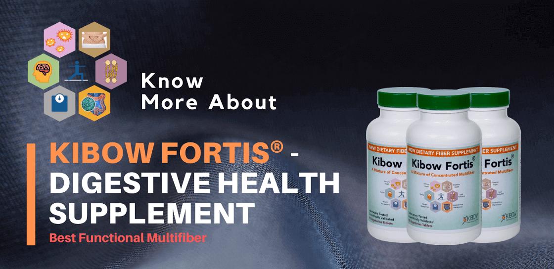 Kibow Fortis® - Best Digestive Health Supplement | USA