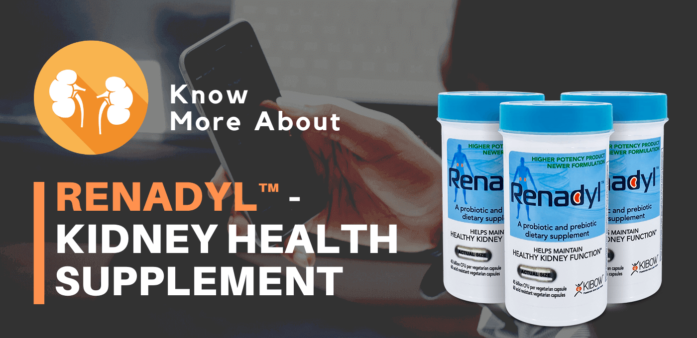 Renadyl™ - Best Kidney Health Supplement | USA